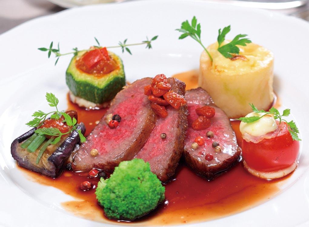 お肉料理画像
