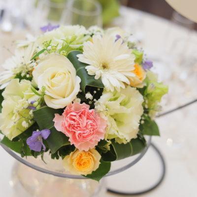 ゲストテーブル装花画像