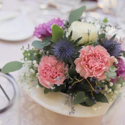 テーブル装花画像