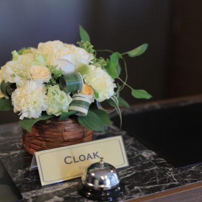 クローク装花画像